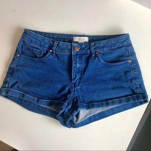 F21 Blue denim shorts